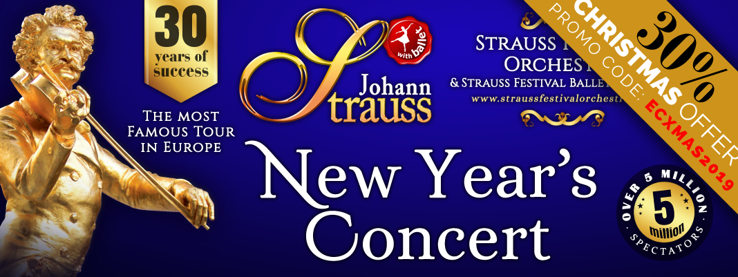 JOHANN STRAUSS - New Year's Concert